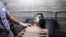 """Assad regime drops chemical agents in Damascus just 24 hours after """"Russia deal"""""""