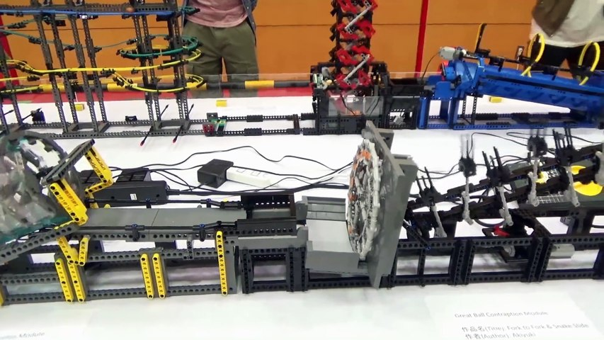Great Ball Contraption at Japan Brickfest 2016
