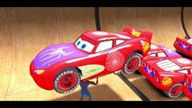 New Spiderman vs 25 Disney Custom Spider McQueen Cars w- Children Nursery Rhyme with Action_4