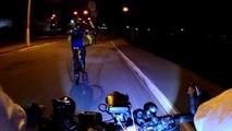 4k, ultra HD, Taubaté, Passeio Mtb Noturno, 34 km, 25 bikers, SP, Brasil, Vale do Paraíba, Mtb, pedalando com a  família, amigos e a bike Soul SL 129, 24v, junho de 2016, Marcelo Ambrogi (32)