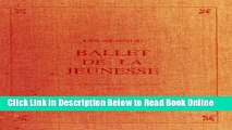 Read Ballet De LA Jeunesse (French Opera in the 17th and 18th Centuries) (French Edition)  PDF