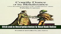 Read Courtly Dance of the Renaissance: A New Translation and Edition of the Nobilta Di Dame (1600)