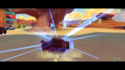 CARS 2 HD Lightning McQueen Battle Race with Funny Tow Mater
