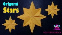 Origami Stars Folding Instructions - How to Fold an Origami Star || F2BOOK Video #155