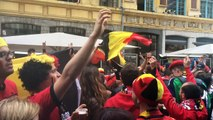 """Don't take me home"" : les fans belges chantent avant pays de Galles-Belgique"