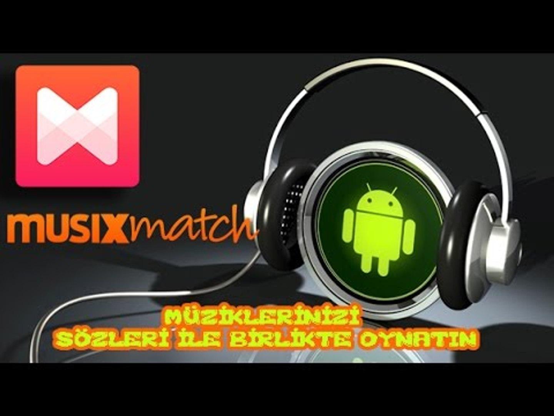 MOBİL MP3/MP4 OYNATICI (SÖZLERİ İLE BİRLİKTE DİNLEYİN Musixmatch)