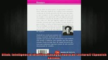 READ book  Blink Inteligencia intuitiva Ensayo Punto de Lectura Spanish Edition Full Free
