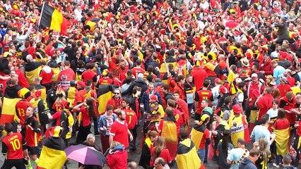 Euro 2016 : les Belges font la fête à Lille avant le match contre Galles