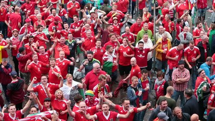 Euro à Lille : les supporters gallois ne sont pas en reste !