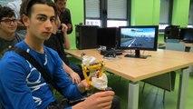 Une manette de jeu pour tétraplégiques mise au point au lycée Condorcet à Schoeneck