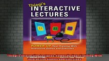 Free Full PDF Downlaod  Thiagis Interactive Lectures Power Up Your Training With Interactive Games and Exercises Full Free