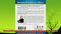 behold  Managed Services in a Month  Build a Successful It Service Business in 30 Days  2nd Ed