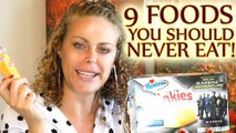 9 Foods to NEVER EAT!! Worst Foods & Alternatives, Weight Loss Tips, Nutrition, Easy Diet