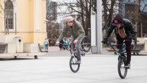 Daniel Dhers and Bert Ribul Ride the Streets of Tallinn