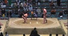 Takageppo vs Tochinoshin Day 1 Sumo Haru Basho March 2014