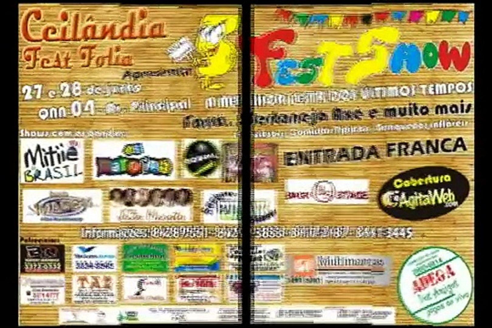 Ceilândia Fest Folia - Dias 27 e 28 de Julho de 2009