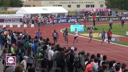 CF Cadets-Juniors : Finale 100 m Cadets