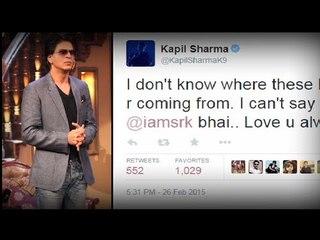 Angry Shahrukh ignores Kapil Sharma's 'apology'