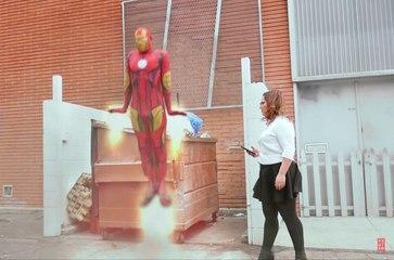 The Flash vs Iron Man | Superheroes vs Life | Love Is A Battfield