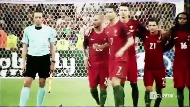 Cristiano Ronaldo obrigou Moutinho a bater um penalti