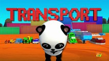 Bao Panda | Learn Transports | Vehicles For Children and Kids | Transports Song