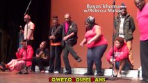 Soweto Gospel Choir - Rehearsing for SAMAs Pt 1.