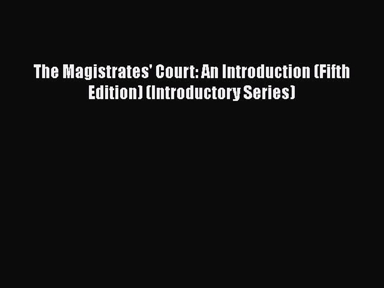 Blackstones Magistrates Court Handbook 2016