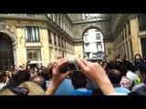 Napoli,Galleria Umberto, Flash Mob Gospel, 28 Aprile 2013