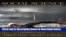 Read Social Science: An Introduction to the Study of Society (14th Edition)  PDF Free