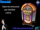 "Karaoké Joe Dassin ""Salut les amoureux"""