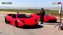 First Challenge : Lamborghini Murcielago LP640 vs Ferrari 458.