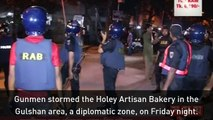 20 hostages killed in a siege at a cafe in Bangladesh
