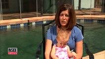 Le bébé tombe dans la piscine, mais la maman ne fait rien pour le sauver et vous allez vite comprendre pourquoi…