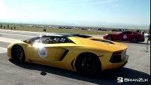 Challenge 4 : Ferrari F12 Berlinetta vs Lamborghini Aventador
