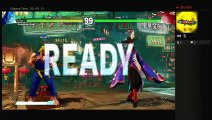 Street Fighter 5 Ken Survival Mode