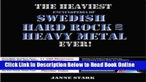 Download The Heaviest Encyclopedia of Swedish Hard Rock and Heavy Metal Ever!  Ebook Free