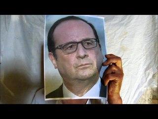 #jesuisdanslatour François Hollande a rejoint la Tour du Peuple à Crest !
