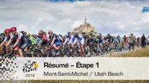 Résumé - Étape 1 (Mont-Saint-Michel  Utah Beach Sainte-Marie-du-Mont) - Tour de France 2016