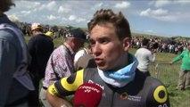 Cyclisme - Tour de France - 1re étape : Coquard «On s'est fait tasser»