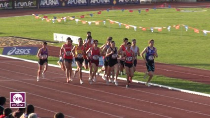 Cf Cadets-Juniors : Finale 1500 m Juniors Garçons