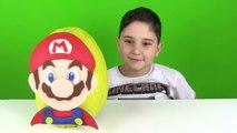 Süper Mario Oyun Hamuru Sürpriz Yumurta Yapımı ve Oyuncaklar