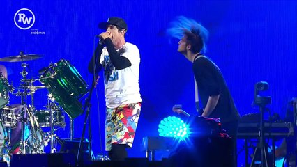 Red Hot Chili Peppers - Aeroplane (Live at Rock Werchter 2016) [HD]