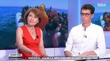 Migrants : Quand la Méditerranée devient un cimetière - Samedi soir dimanche matin - Le débat (02/07/2016)