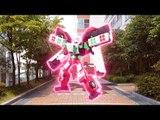 Hello CarBot transforming car toys 헬로카봇 스타렉스 댄디/댄디 구급차 카봇 장난감 실사 합성 변신 동영상