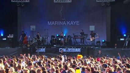 "Marina Kaye au Main Square 2016 ""Mirror Mirror"""