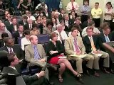Secretary Napolitano at August 13, 2010, White House Daily Briefing, Part 2