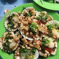 [Street Food] Grilled Scallops with Onion recipe