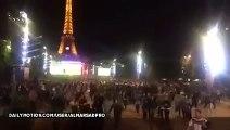 Mouvement de foule à la fan zone de Paris