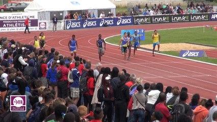 CF Cadets-Juniors : Finale 200 m Cadets