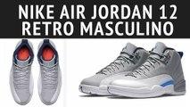 TÊNIS NIKE AIR JORDAN 12 RETRO MASCULINO - Tênis, Nike, Air, Jordan, 12, Retro, Masculino